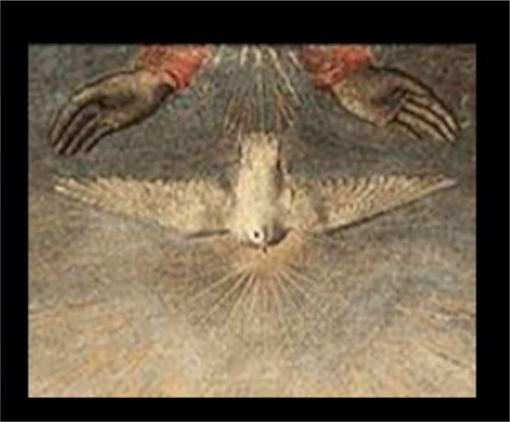 「キリストの洗礼」: 意味が分かると怖いポイント