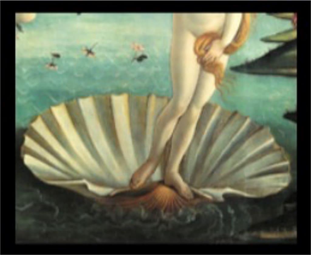 「ヴィーナスの誕生」: 意味が分かると怖いポイント