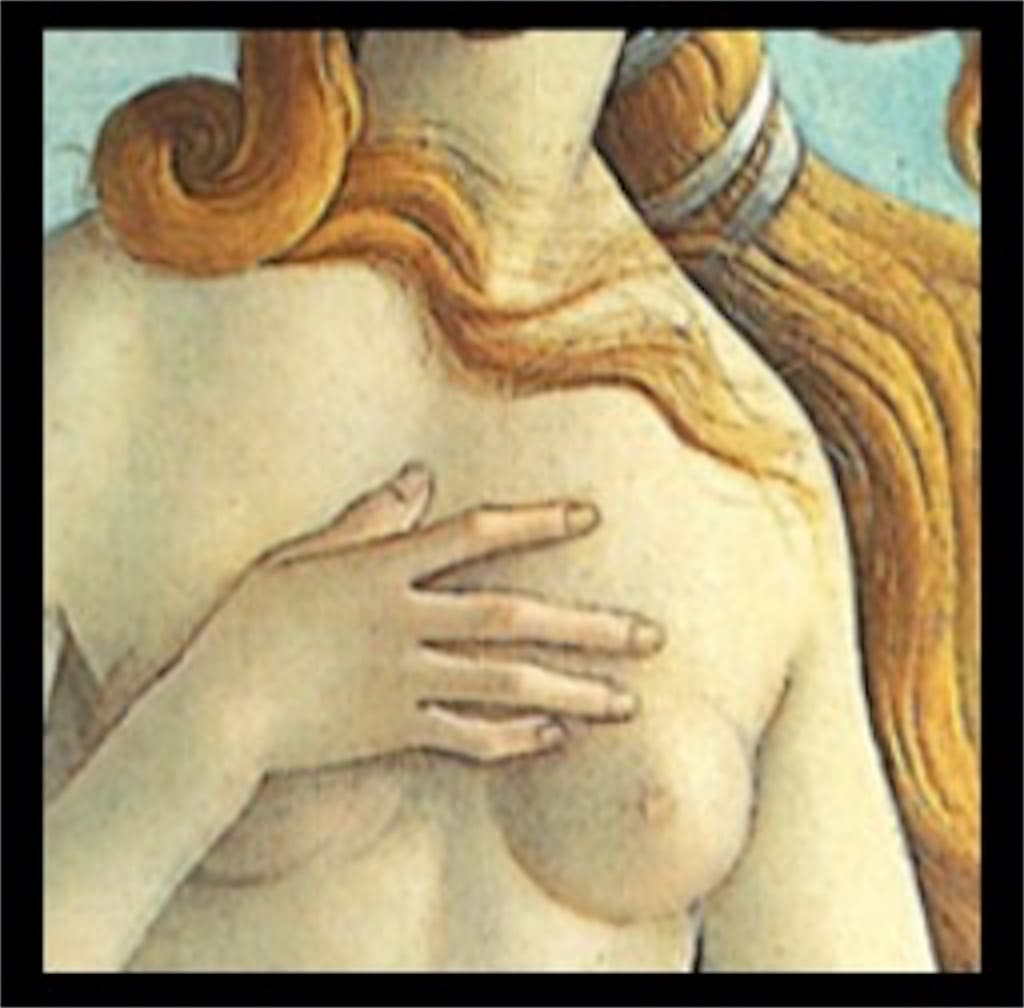「ヴィーナスの誕生」: 意味が分かると怖いポイント2