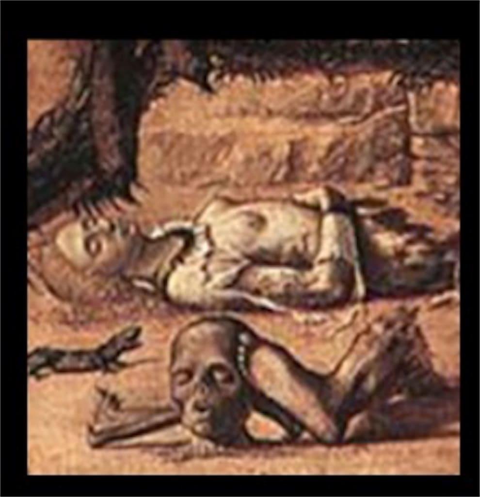 「聖ゲオルギウスと竜」: 意味が分かると怖いポイント2