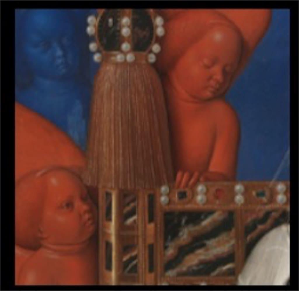 「ムーランの聖母子」: 意味が分かると怖いポイント2