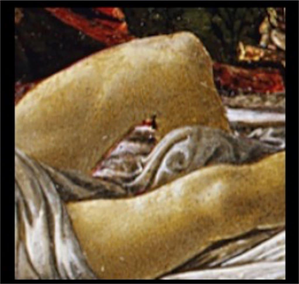 「ホロフェルネスの遺体発見」: 意味が分かると怖いポイント2