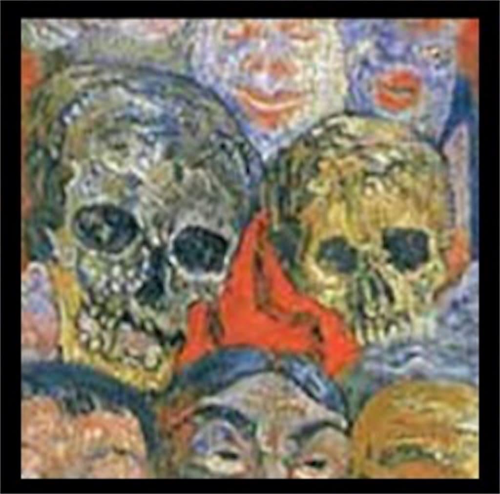 「仮面に囲まれた自画像」: 意味が分かると怖いポイント3