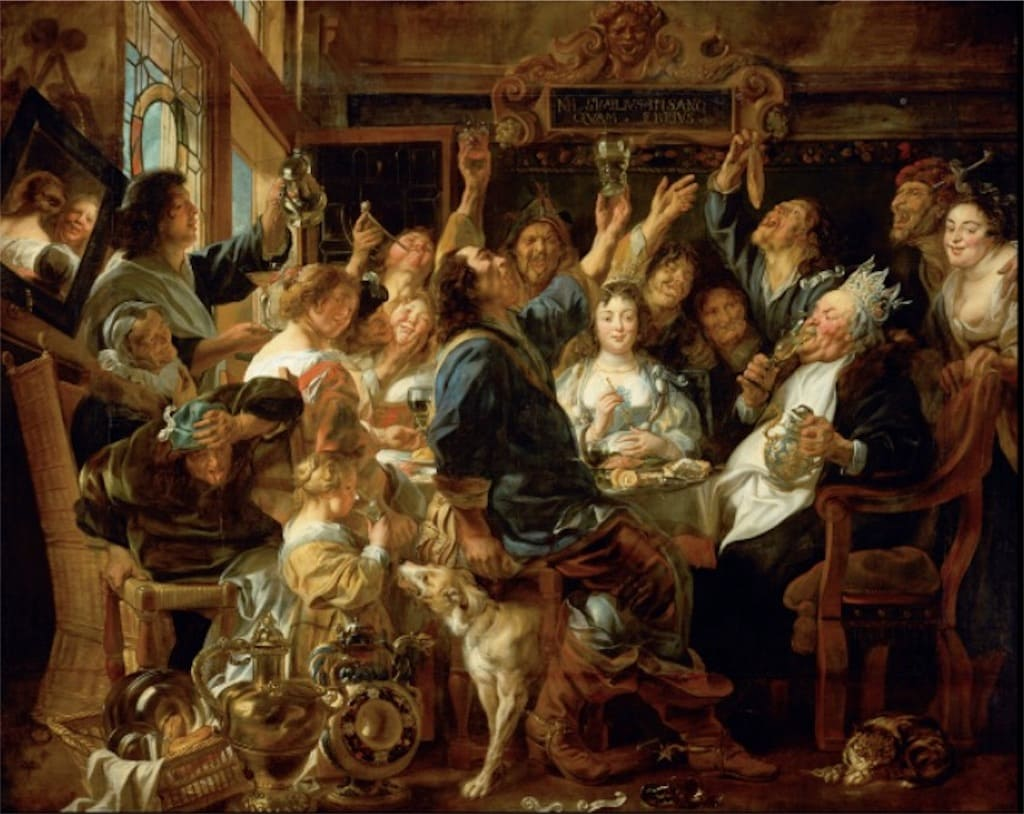 「豆の王の祝宴」とは?