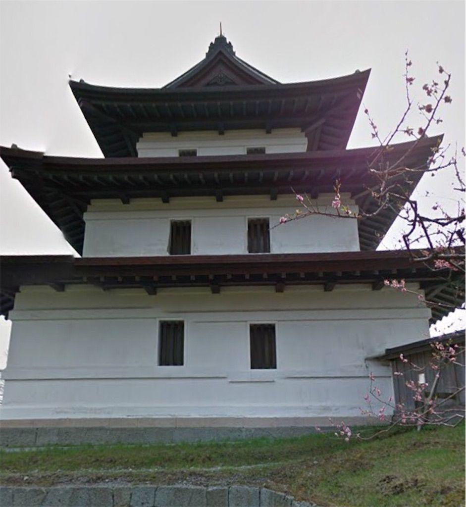 北海道の心霊スポットの「松前城」