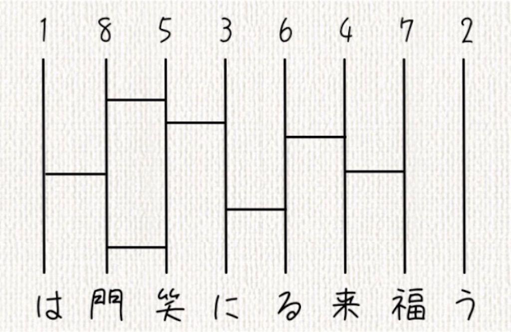 【頭を柔らかくする脳トレ】 No.35の攻略
