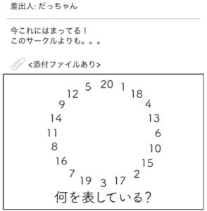 【謎解きメール2】 No.47の攻略