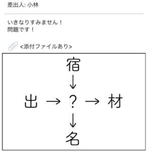 【謎解きメール2】 No.31の攻略