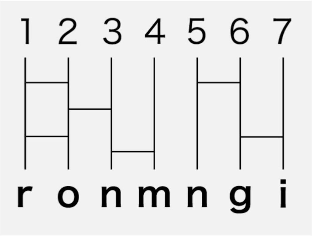 【頭を柔らかくする脳トレ2】 No.34の攻略