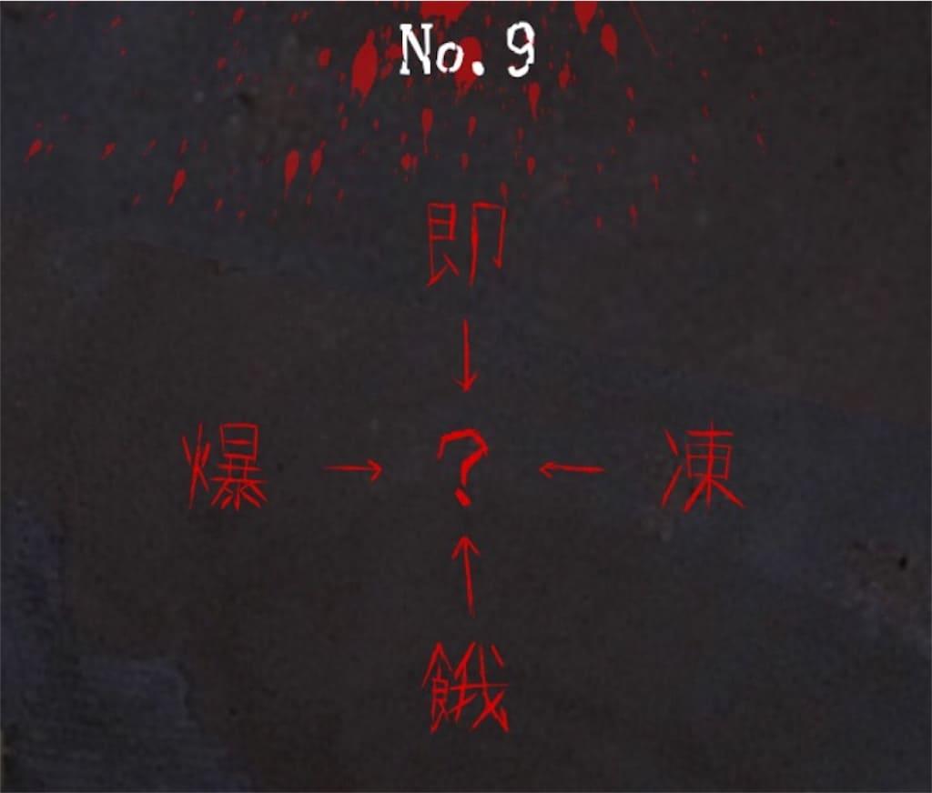 【謎解き 廃墟からの脱出】 No.9の攻略