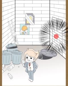 【鼻毛探偵】ステージ17「怪盗ワルサ、最後の抵抗」の攻略4