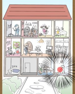 【鼻毛探偵】ステージ14「奇妙なマンションの住人たち」の攻略