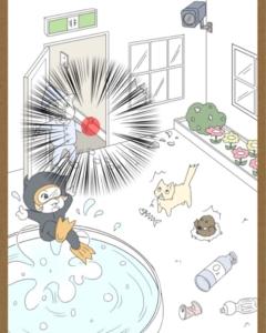 【鼻毛探偵】ステージ12「地下湖の出口は?」の攻略