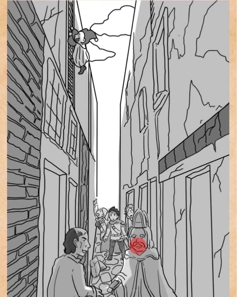 【謎解きは魔王討伐のあとで】 FILE.13「路地裏の密談」の攻略2