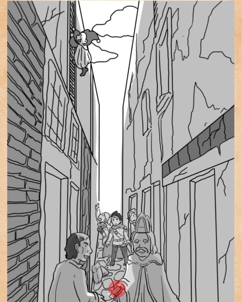 【謎解きは魔王討伐のあとで】 FILE.13「路地裏の密談」の攻略3