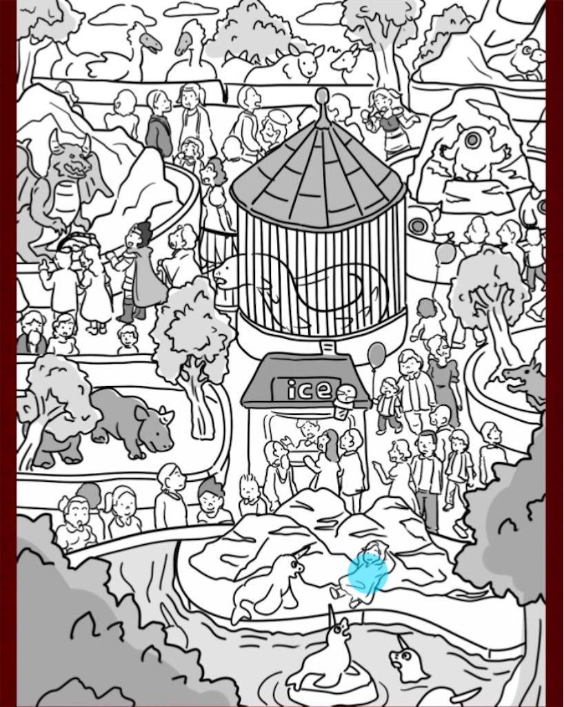 【なぞときクエスト】 FILE.09「祭りの見物客」の攻略2