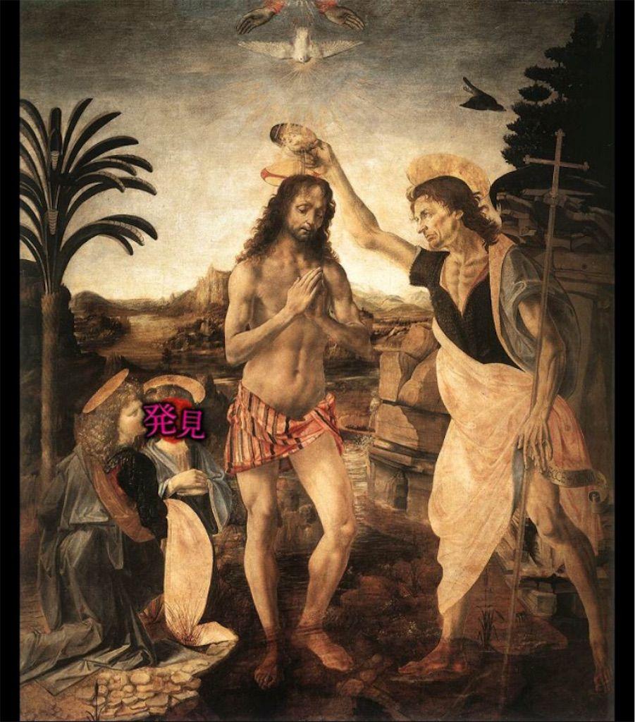 【意味が分かると怖い絵Ⅰ】「キリストの洗礼」の攻略
