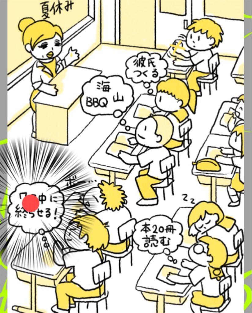 【理想と現実】 ステージ.8「学校生活」の攻略1