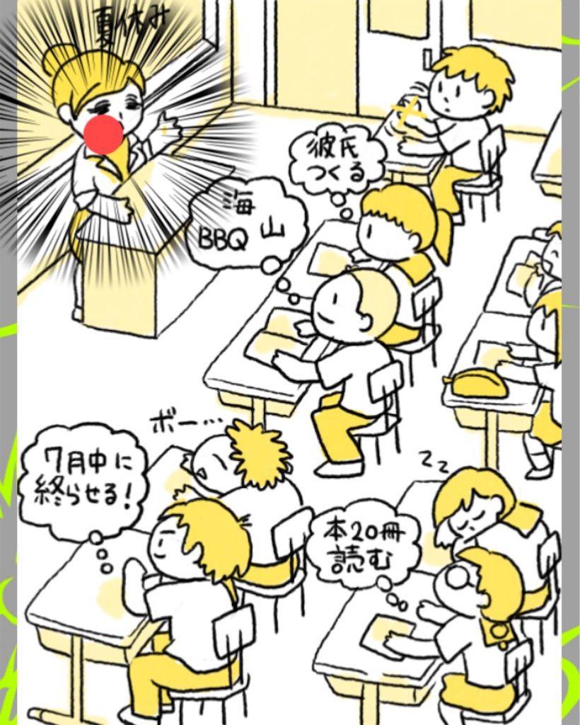 【理想と現実】 ステージ.8「学校生活」の攻略3