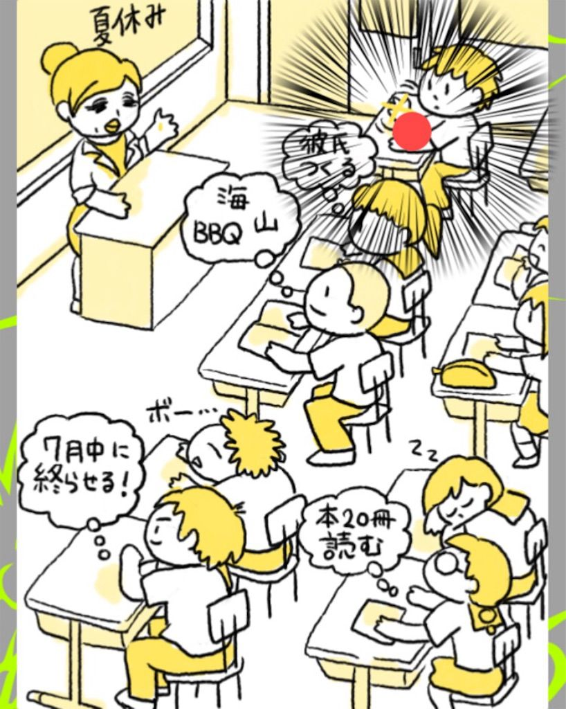 【理想と現実】 ステージ.8「学校生活」の攻略4