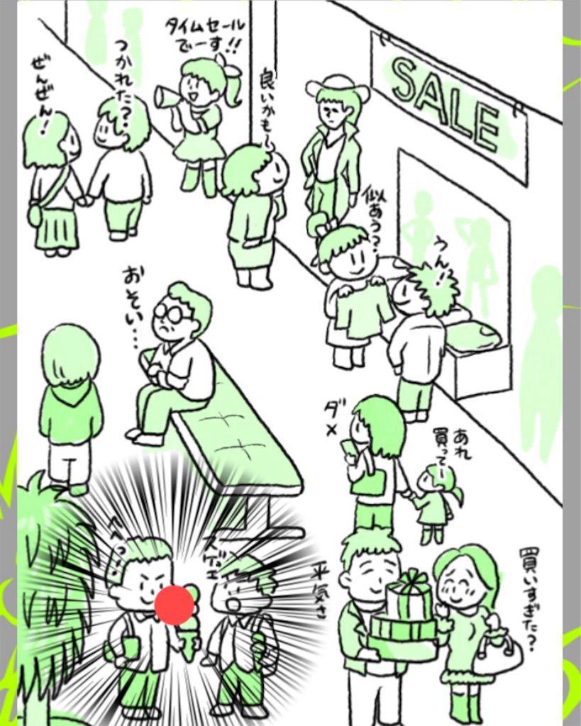 【理想と現実】 ステージ.5「ショッピング」の攻略4