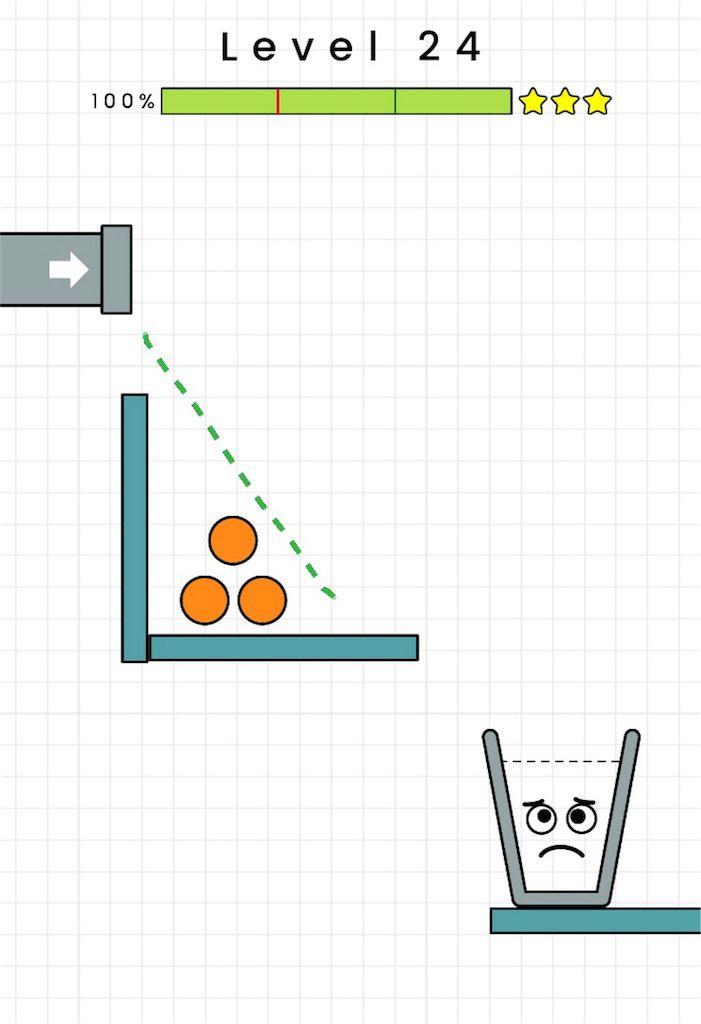 【HAPPY GLASS】level.24の攻略