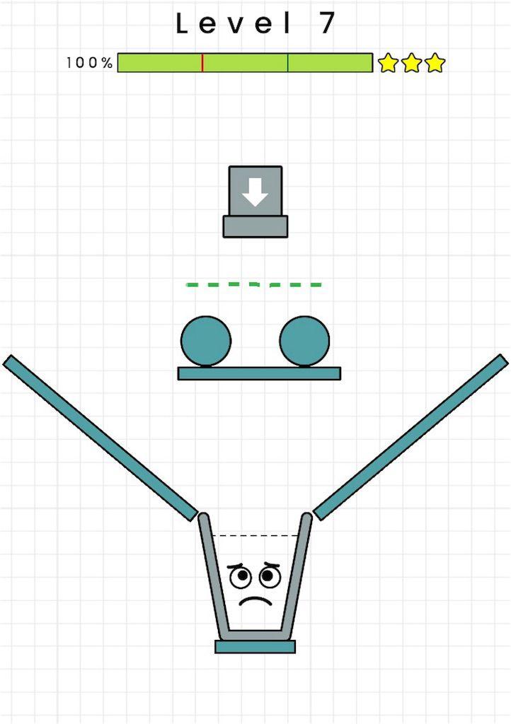 【HAPPY GLASS】level.07の攻略