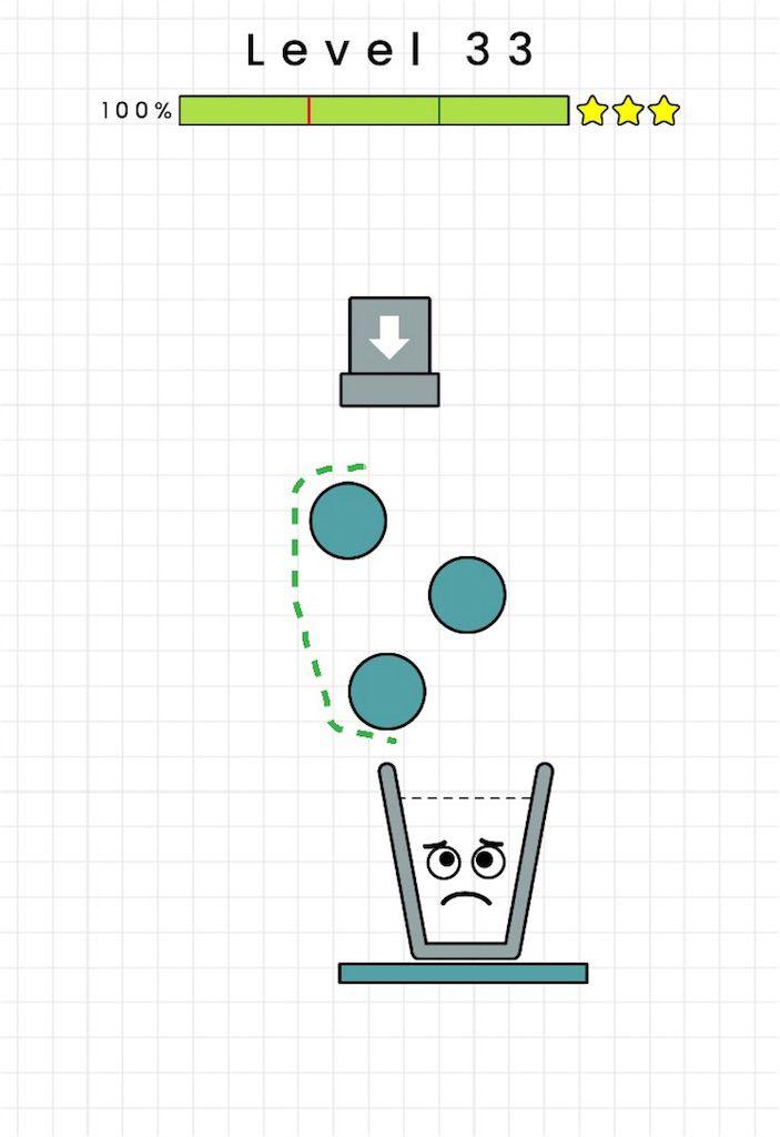 【HAPPY GLASS】level.33の攻略