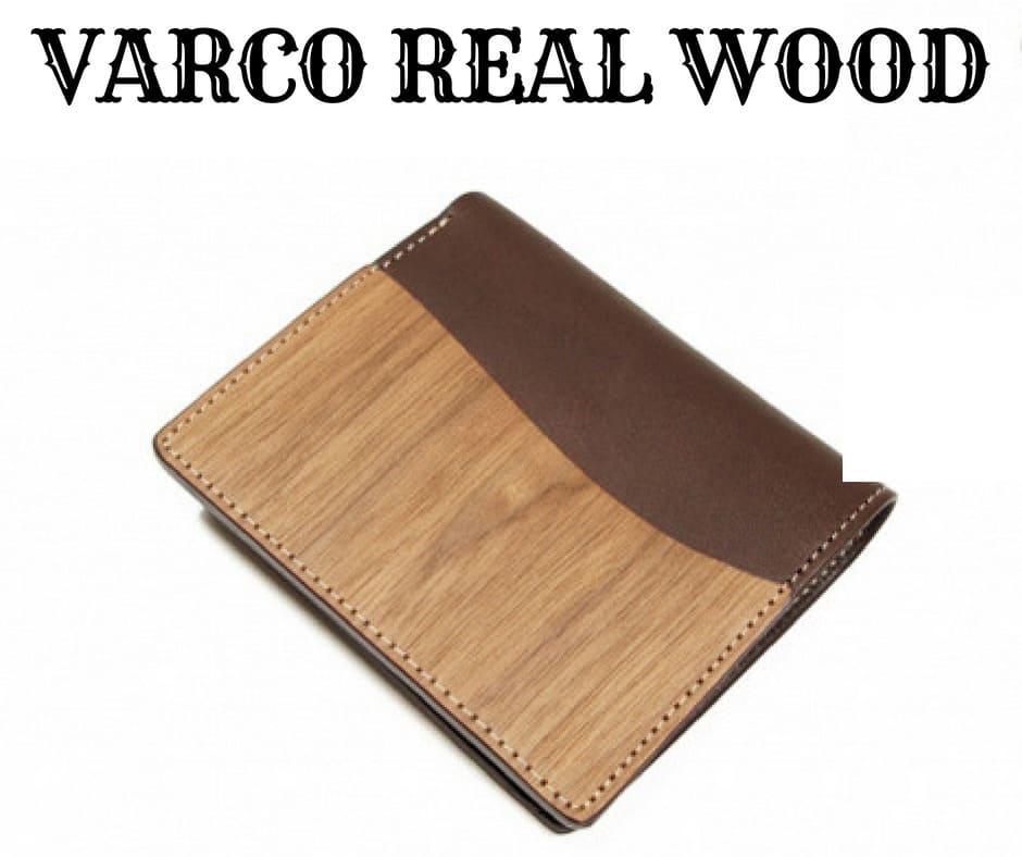 VARCO REAL WOOD(ヴァーコリアル ウッド)の「スタンダードウォレット 財布 二つ折り」