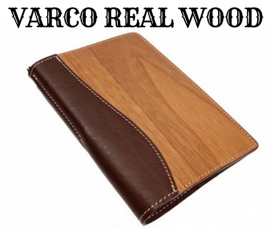 VARCO REAL WOOD(ヴァーコリアル ウッド)の「ブックカバー」