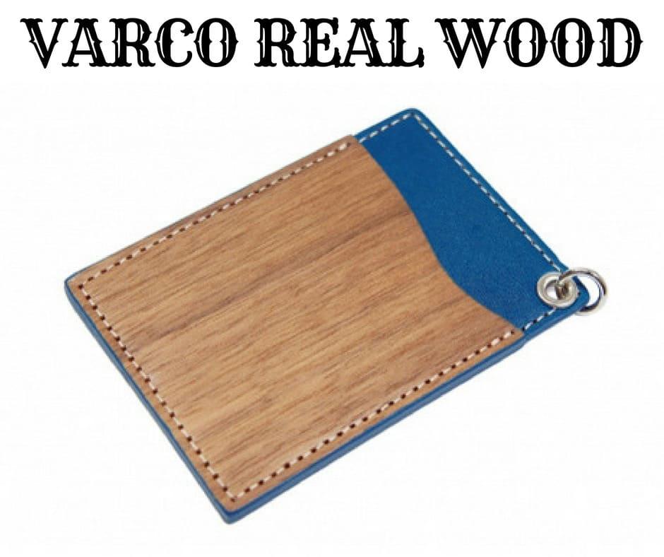 VARCO REAL WOOD(ヴァーコリアル ウッド)の「パスホルダー パスケース」