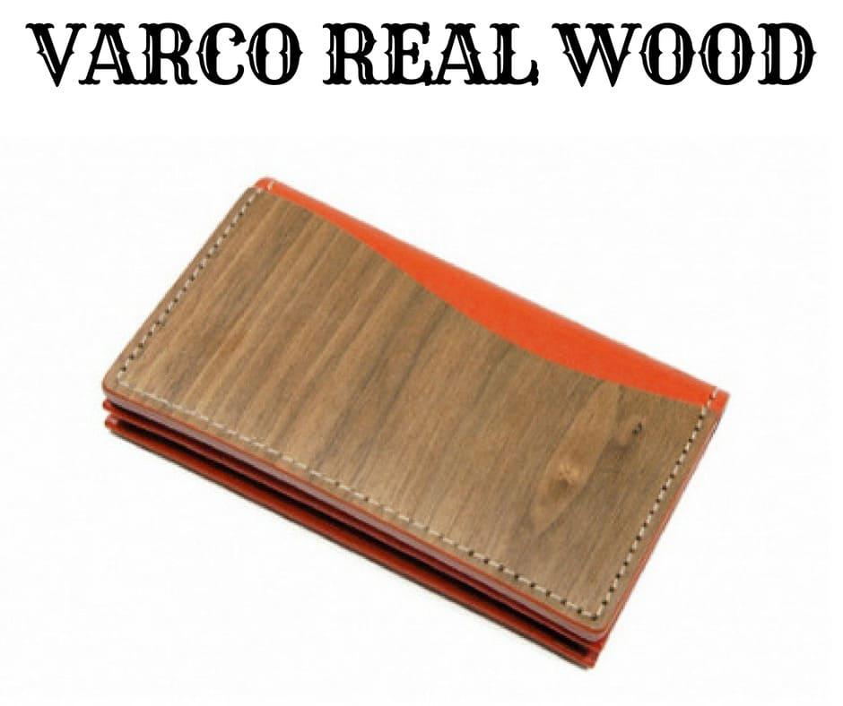 VARCO REAL WOOD(ヴァーコリアル ウッド)の「カードケース 名刺入れ」