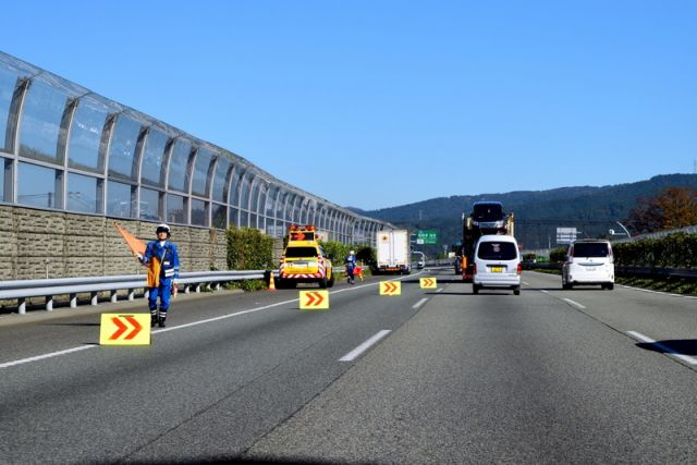 施設警備のお仕事1:交通整理