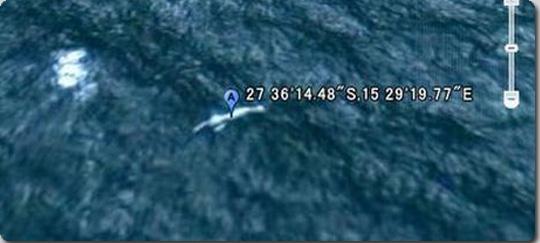 Google earthにニンゲンが写っていた?