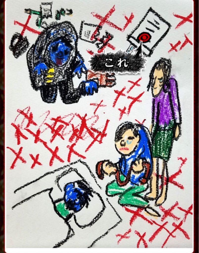 ブタが泣いた夜 「我が子」の問題3の答え