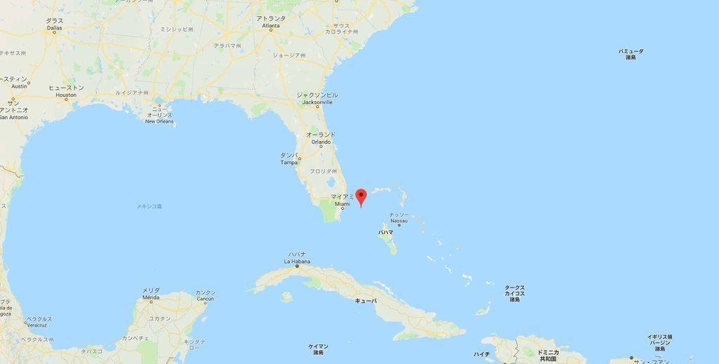 フロリダ州に位置するビミニロード
