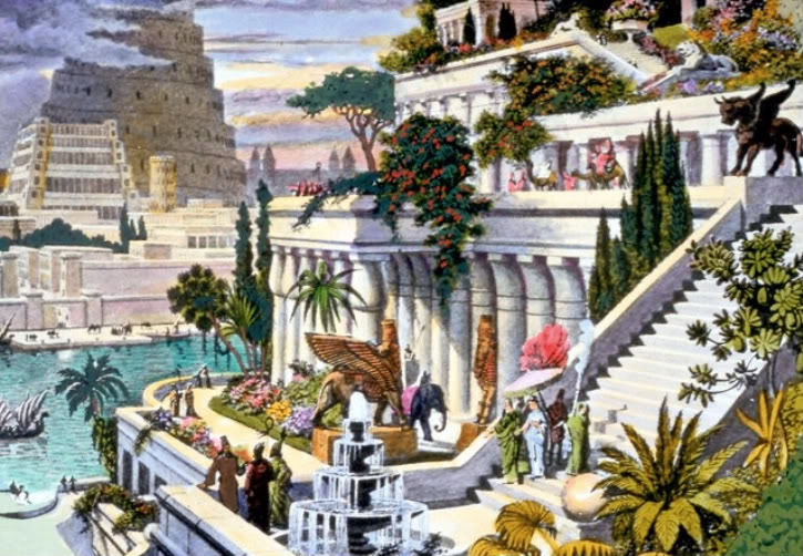 バビロンの空中庭園