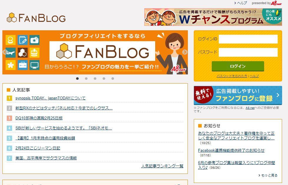 ファンブログでブログを始める