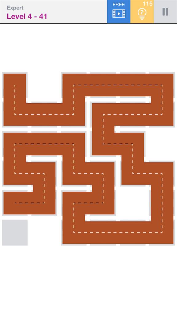 """【攻略】パズルゲームの""""Fill""""の攻略を載せてみる expertのLevel4 ..."""