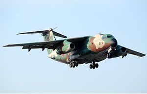 菅島事故を起こした機体C-1輸送機の詳細