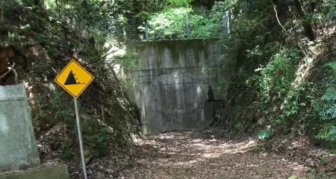 徳島県の心霊スポットの旧童学寺トンネル
