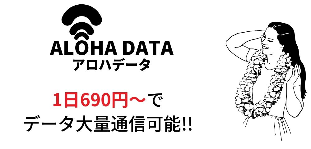 """ALOHA DATA(アロハデータ)""とは?"