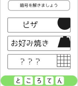 【シカマルIQ シリーズ3】 Q.36の攻略