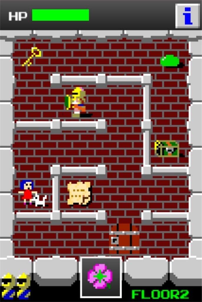 【狭くて小さいドルアーガの塔】 ステージ2の攻略3