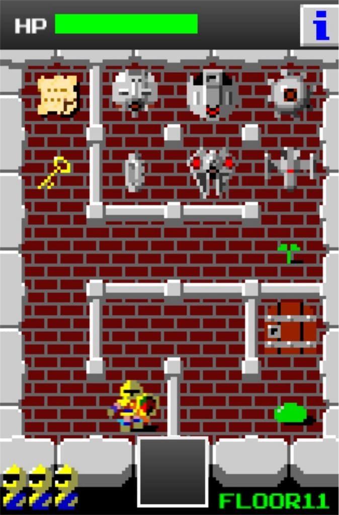 【狭くて小さいドルアーガの塔】 ステージ11の攻略