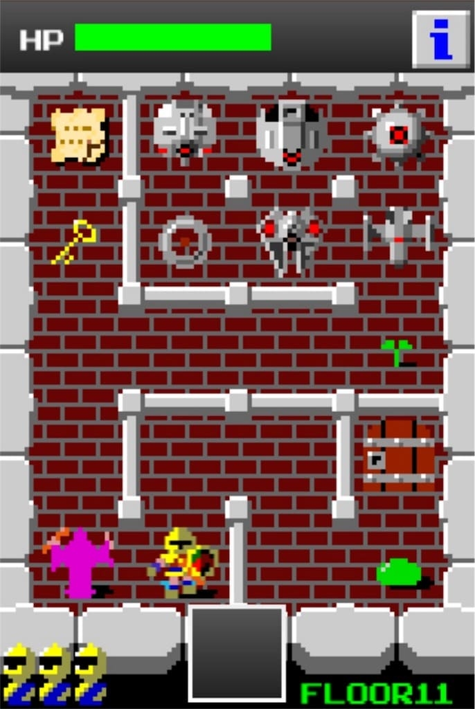 【狭くて小さいドルアーガの塔】 ステージ11の攻略2