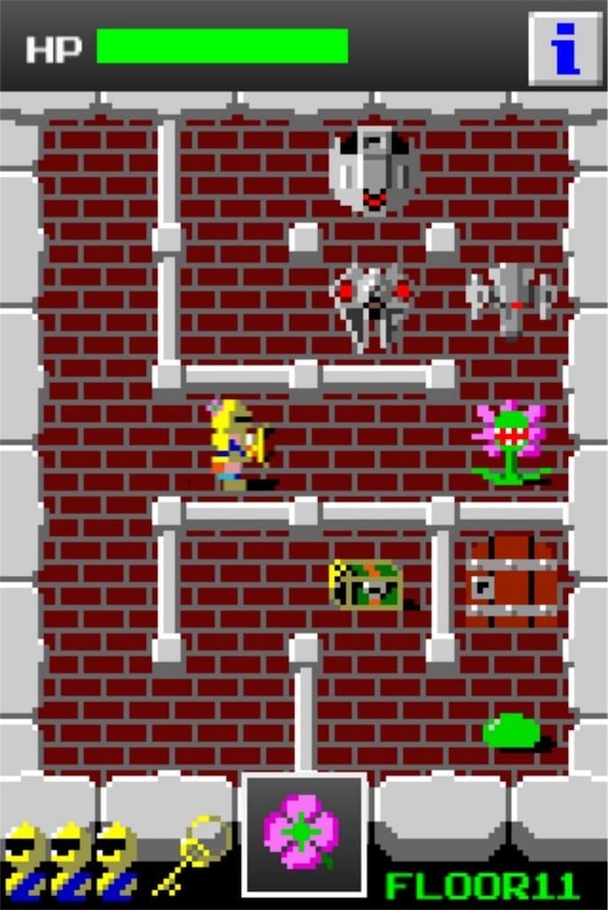 【狭くて小さいドルアーガの塔】 ステージ11の攻略3