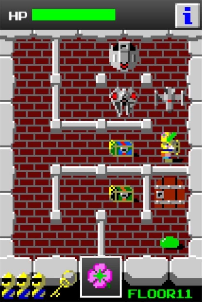 【狭くて小さいドルアーガの塔】 ステージ11の攻略4