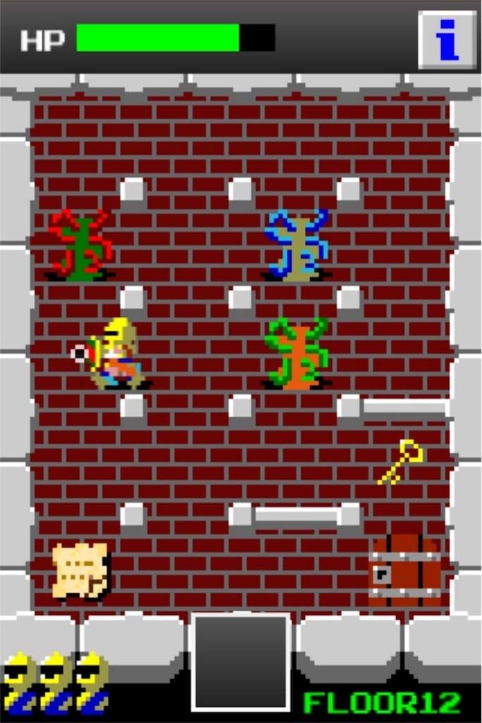 【狭くて小さいドルアーガの塔】 ステージ12の攻略2