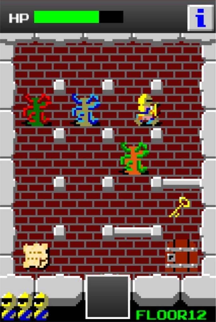 【狭くて小さいドルアーガの塔】 ステージ12の攻略3